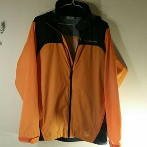 Columbia rain jacket/windbreaker men's sz S